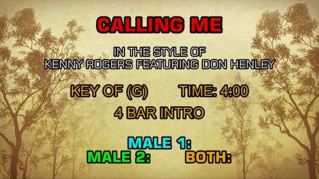 Kenny Rogers ftg. Don Henley - Callin...
