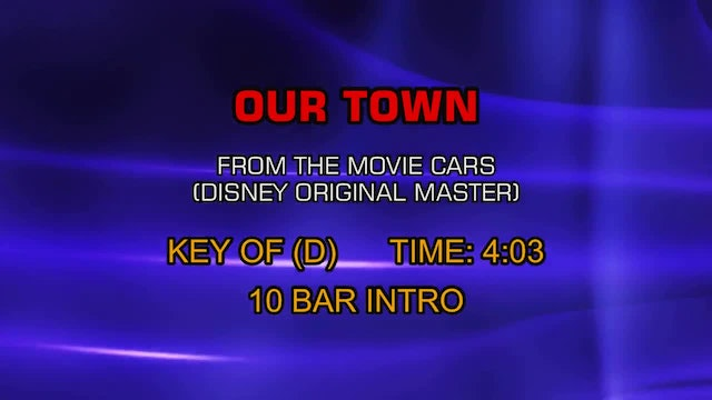 From The Movie Cars (Disney Original Master) - Our Town