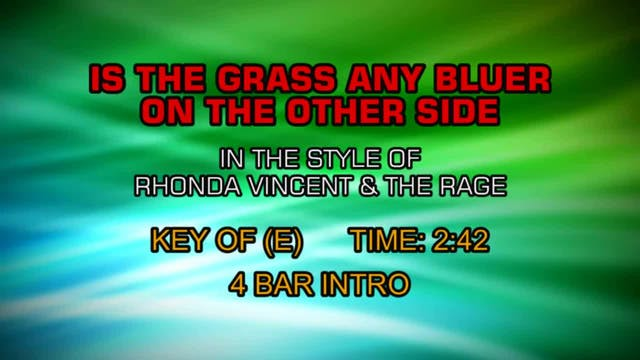 Rhonda Vincent & The Rage - Is The Gr...