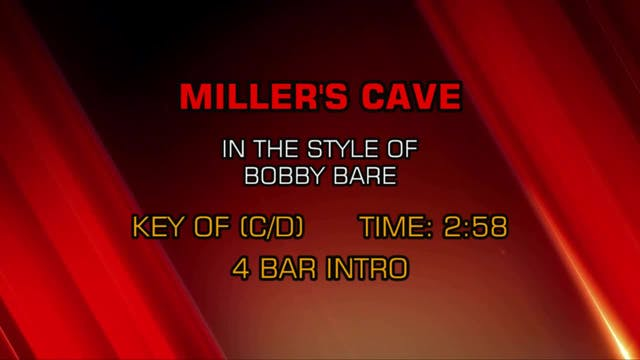 Bobby Bare - Miller's Cave