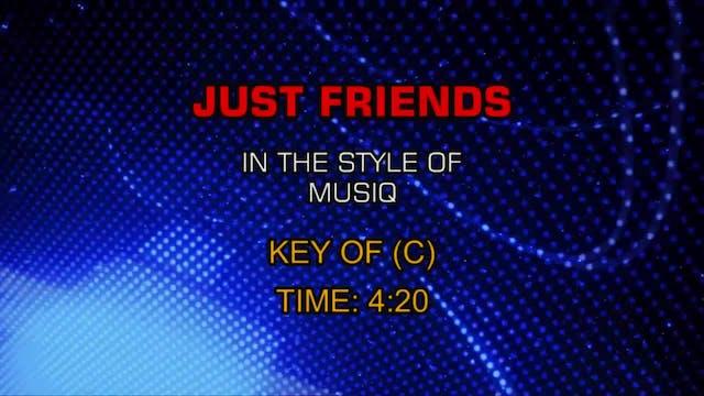 Musiq - Just Friends