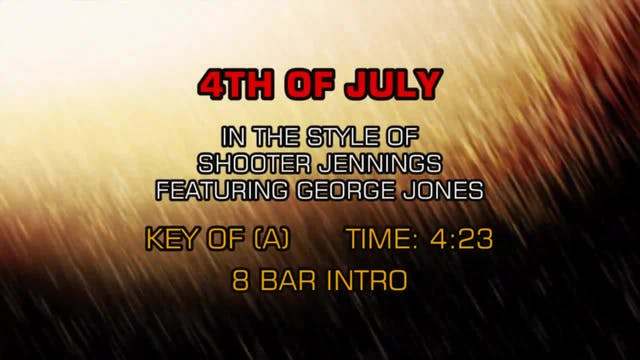 Shooter Jennings - 4th Of July