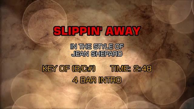 Jean Shepard - Slippin' Away