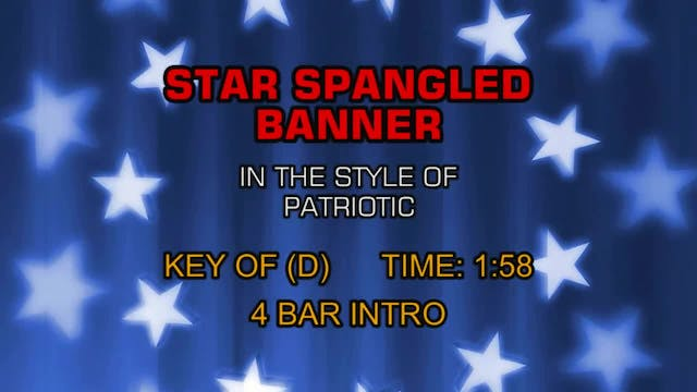 Patriotic - Star Spangled Banner, The