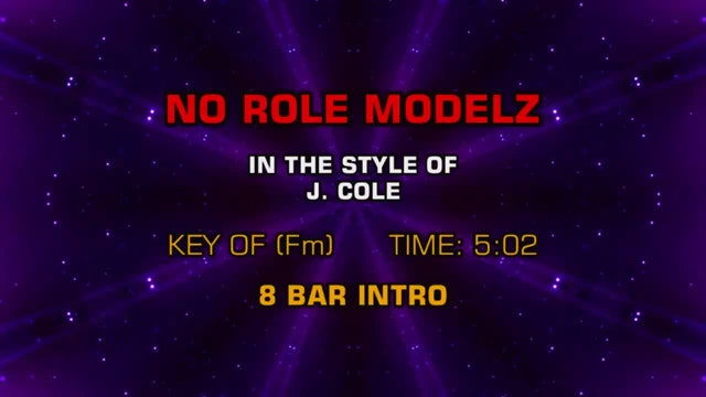 J. Cole - No Role Modelz
