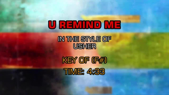 Usher - U Remind Me