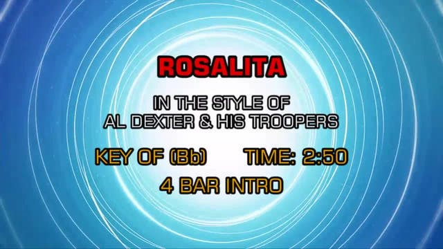 Al Dexter And His Troopers - Rosalita