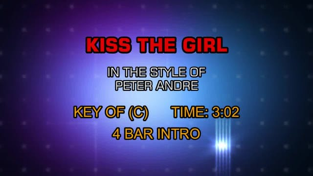 Peter Andre - Kiss The Girl