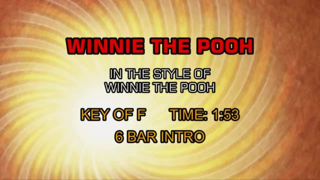 From Winnie The Pooh - Winnie The Pooh