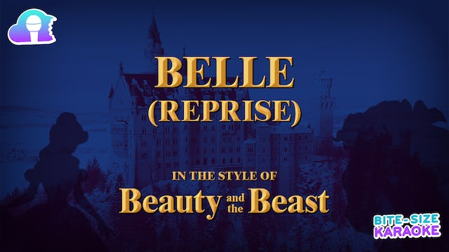 BSK - Beauty And The Beast - Belle (Reprise)