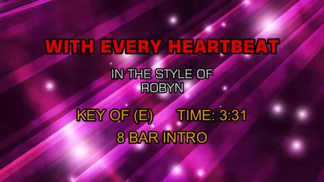 Robyn - With Every Heartbeat