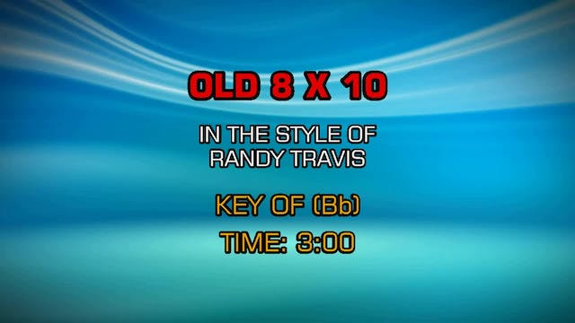 Randy Travis - Old 8x10
