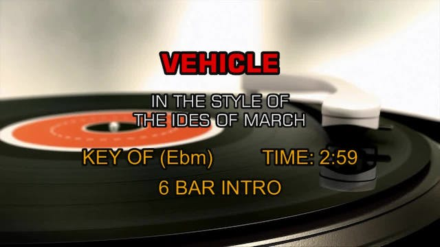 The Ides Of March - Vehicle
