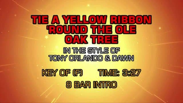 Tony Orlando & Dawn - Tie A Yellow Ribbon 'Round The Ole Oak Tree