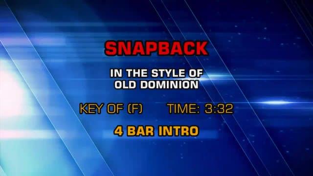 Old Dominion - Snapback