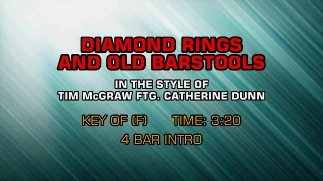 Tim McGraw ftg. Catherine Dunn - Diamond Rings And Old Barstools