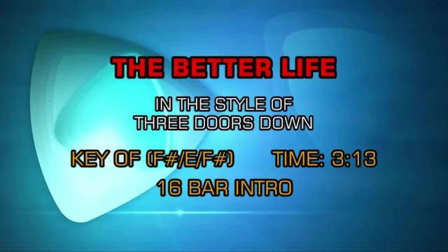 3 Doors Down - Better Life, The