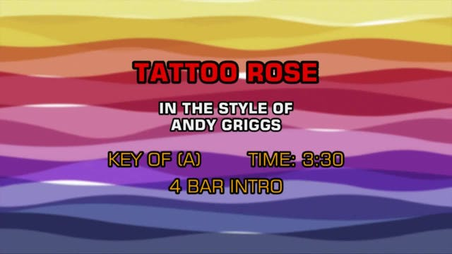 Andy Griggs - Tattoo Rose