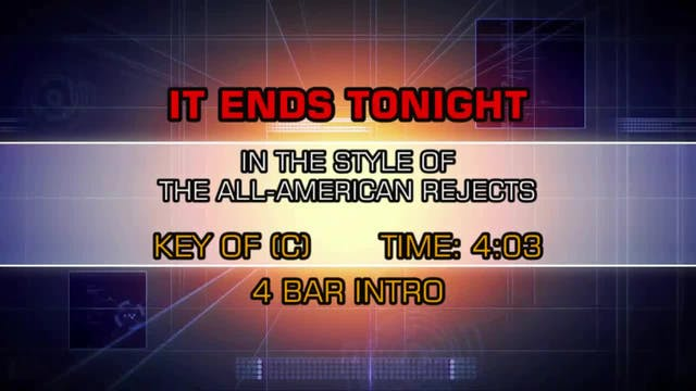 All-American Rejects, The - It Ends T...