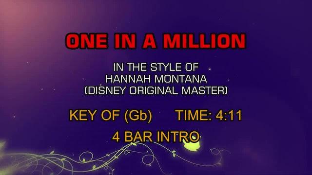 Hannah Montana (Disney Original Master) - One In A Million