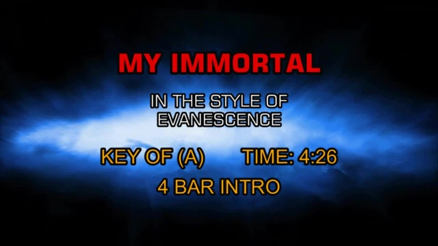 Evanescence -My Immortal