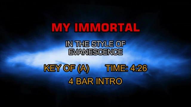 Evanescence -My Immortal