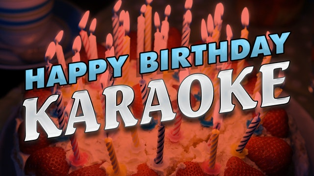 Happy Birthday Karaoke
