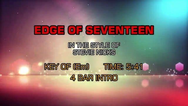 Stevie Nicks - Edge Of Seventeen