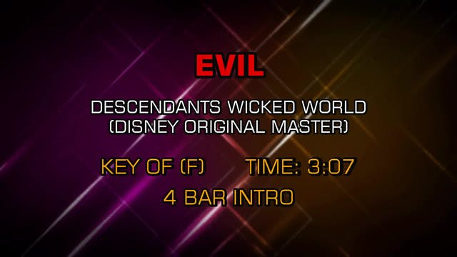 Descendants - Evil