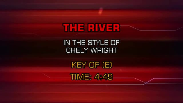 Chely Wright - River, The