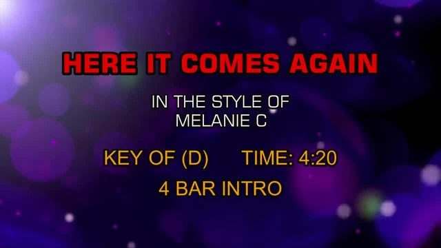 Melanie C - Here It Comes Again