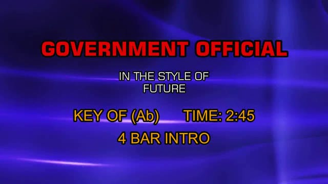 Future - Government Official