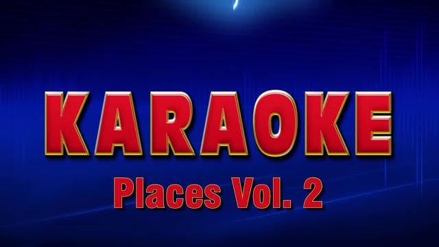 Lightning Round Karaoke - Places Vol. 2