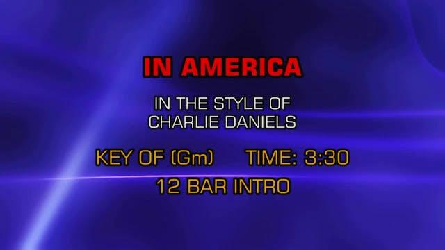 Charlie Daniels Band, The - In America