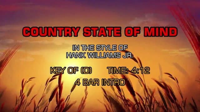 Hank Williams Jr. - Country State Of ...