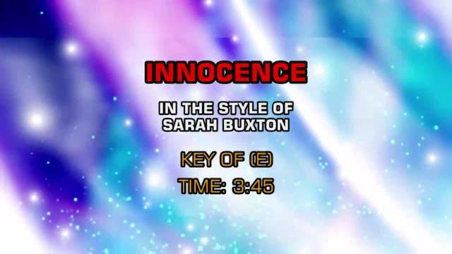 Sarah Buxton - Innocence