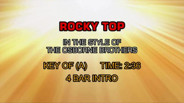 Osborne Brothers, The - Rocky Top