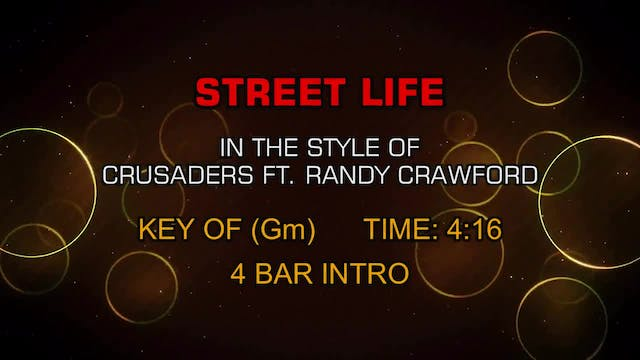 Crusaders Ft. Randy Crawford - Street...
