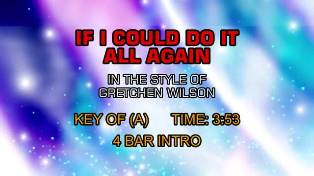 Gretchen Wilson - If I Could Do It Al...