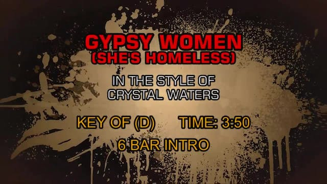 Crystal Waters - Gypsy Woman (She's H...