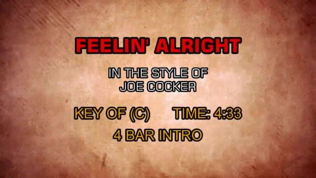 Joe Cocker - Feelin' Alright