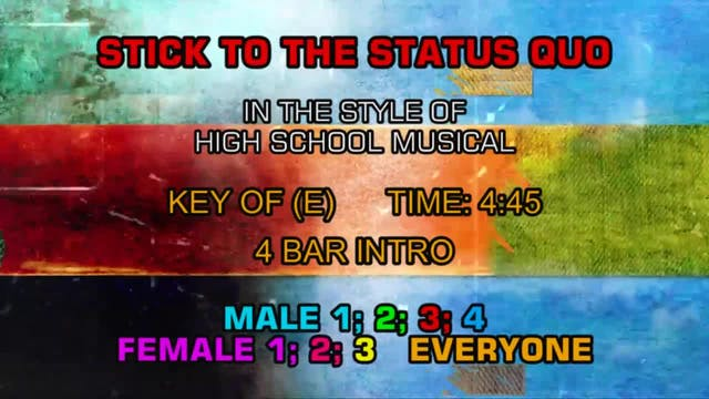High School Musical - Stick To The St...