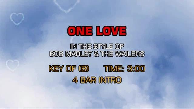 Bob Marley And The Wailers - One Love