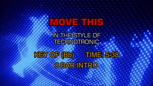 Technotronic - Move This