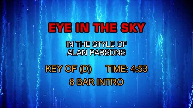 Alan Parsons - Eye In The Sky
