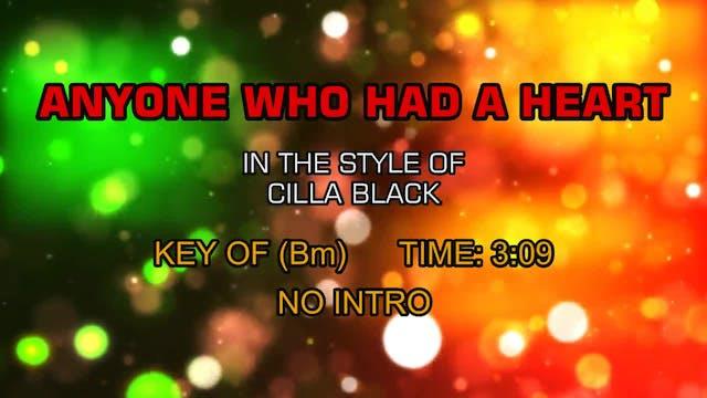 Cilla Black - Anyone Who Had A Heart
