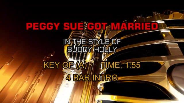 Buddy Holly - Peggy Sue Got Married