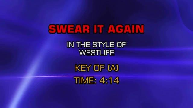 Westlife - Swear It Again