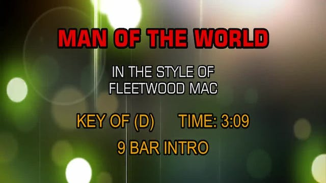 Fleetwood Mac - Man Of The World