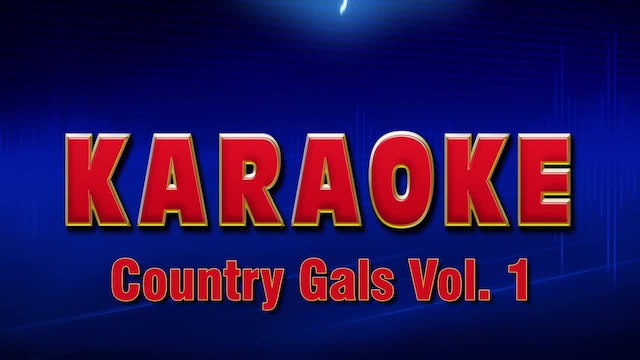 Lightning Round Karaoke - Country Gals Vol. 1